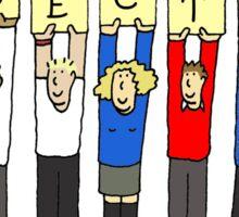 Election success. Sticker
