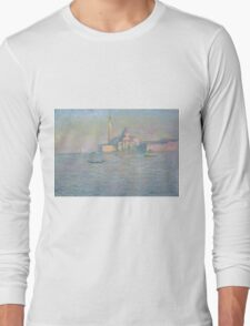 Claude Monet - The Church of San Giorgio Maggiore, Venice Long Sleeve T-Shirt