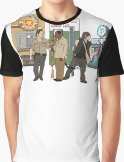 The Walkind Nazi Zombie Slayers 2.0 Graphic T-Shirt