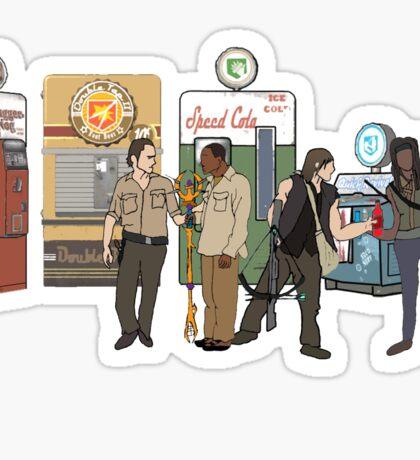 The Walkind Nazi Zombie Slayers 2.0 Sticker