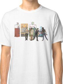 The Walkind Nazi Zombie Slayers 2.0 Classic T-Shirt