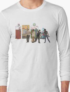 The Walkind Nazi Zombie Slayers 2.0 Long Sleeve T-Shirt