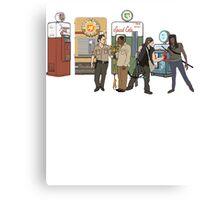 The Walkind Nazi Zombie Slayers 2.0 Canvas Print