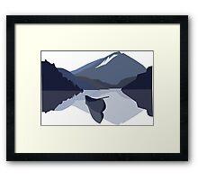 Snowdonia Inspiration  Framed Print
