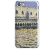Claude Monet - The Doges Palace Impressionism iPhone Case/Skin