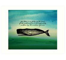 Moby Dick - The Madness of Men Art Print