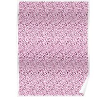Norwegian Flowers (pink) Poster