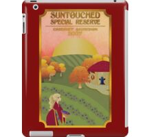 Suntouched Special Reserve Label iPad Case/Skin