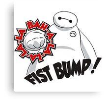 Baymax Fist Bump Canvas Print