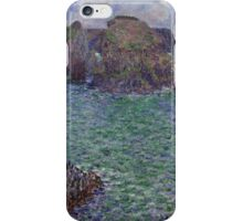 Claude Monet - Port-Goulphar Belle , Impressionism iPhone Case/Skin