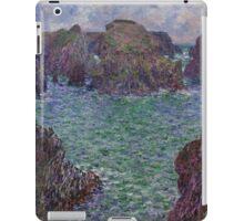 Claude Monet - Port-Goulphar Belle , Impressionism iPad Case/Skin