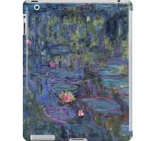 Claude Monet French Impressionism Oil Painting Waterlilies iPad Case/Skin