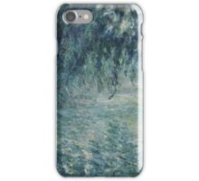 Claude Monet - Morning on the Seine iPhone Case/Skin