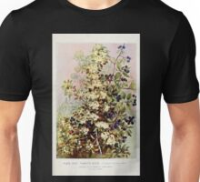 Southern wild flowers and trees together with shrubs vines Alice Lounsberry 1901 074 Pomette Bleue Unisex T-Shirt