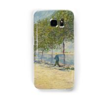 Vincent Van Gogh - By the Seine,  Famous Painting. Impressionism. Van Gogh Samsung Galaxy Case/Skin