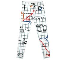 Mathematics Formulas Numbers  Leggings