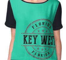 Key West, Florida Keys Chiffon Top