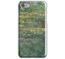 Claude Monet - Le Bassin des Nympheas (1904) French  Impressionism. Famous paintings Claude Monet iPhone Case/Skin