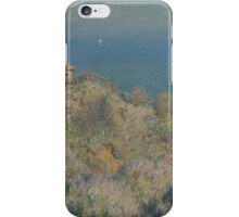 Claude Monet - La maison du pêcheur Varengeville French  Impressionism.  iPhone Case/Skin