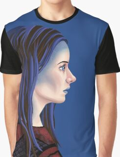 Illyria Portrait Graphic T-Shirt