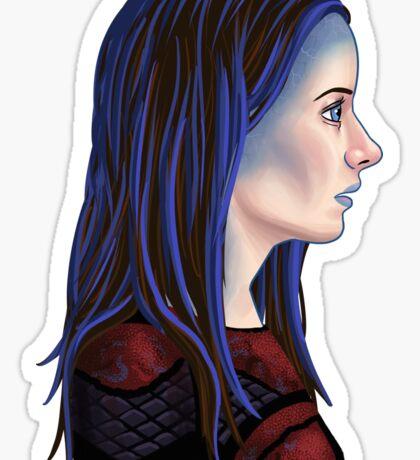 Illyria Portrait Sticker