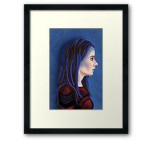 Illyria Portrait Framed Print