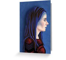 Illyria Portrait Greeting Card
