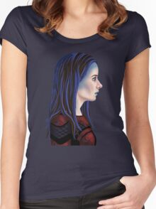 Illyria Portrait Women's Fitted Scoop T-Shirt