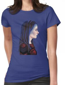 Illyria Portrait Womens Fitted T-Shirt