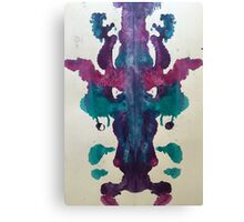 Inkblot Bull Canvas Print