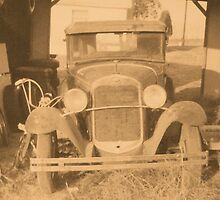 """""""Tin Lizzie""""... prints and products by © Bob Hall"""