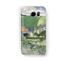 Vincent Van Gogh - View of Auvers, May 1890 - June 1890 Samsung Galaxy Case/Skin