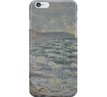 Claude Monet - Fecamp  bord de mer  iPhone Case/Skin
