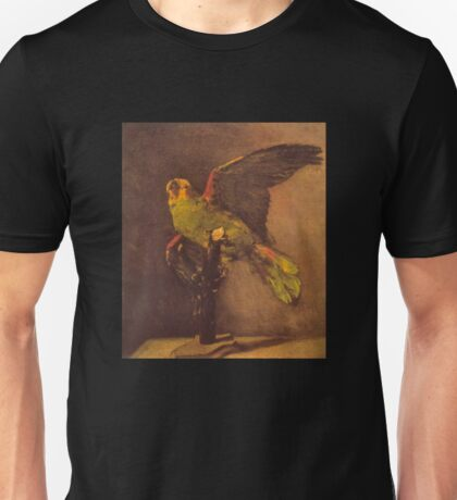 'Parrot' by Vincent Van Gogh (Reproduction) Unisex T-Shirt