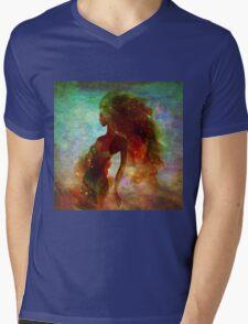 Mermaid girl Mens V-Neck T-Shirt
