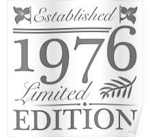 Established 1976 Poster