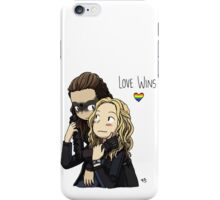 Clexa Love Wins iPhone Case/Skin
