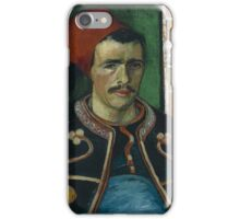 Vincent Van Gogh - The Zouave, June 1888 - 1888 iPhone Case/Skin