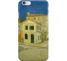 Vincent Van Gogh - The yellow house, September 1888 - 1888 iPhone Case/Skin