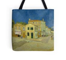 Vincent Van Gogh - The yellow house, September 1888 - 1888 Tote Bag
