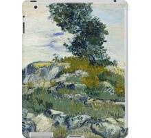 Vincent Van Gogh - The Rocks, 1888 iPad Case/Skin