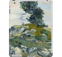 Vincent Van Gogh - The Rocks, 1888 iPad Case/Skin