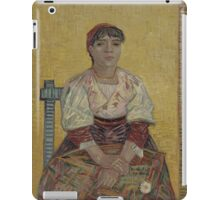 Vincent Van Gogh - The Italian Woman, 1887 iPad Case/Skin