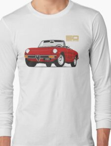 Alfa Romeo Series 2 Spider red Long Sleeve T-Shirt
