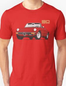 Alfa Romeo Series 2 Spider red Unisex T-Shirt