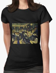 Vincent Van Gogh - The Dance Hall in Arles, 1888 Womens Fitted T-Shirt