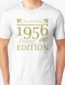 Established 1956 Unisex T-Shirt