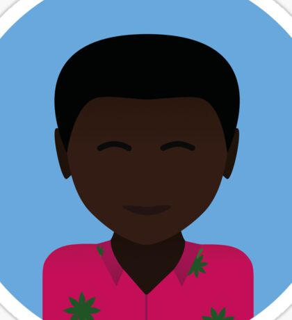 Childish gambino icon Sticker