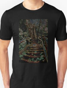 Misty Bridge Unisex T-Shirt