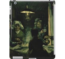 Vincent Van Gogh - The potato eaters 1885 iPad Case/Skin